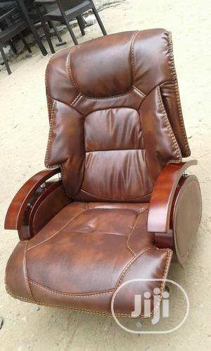 Brown Executive Office Chair | Furniture for sale in Lagos State, Yaba