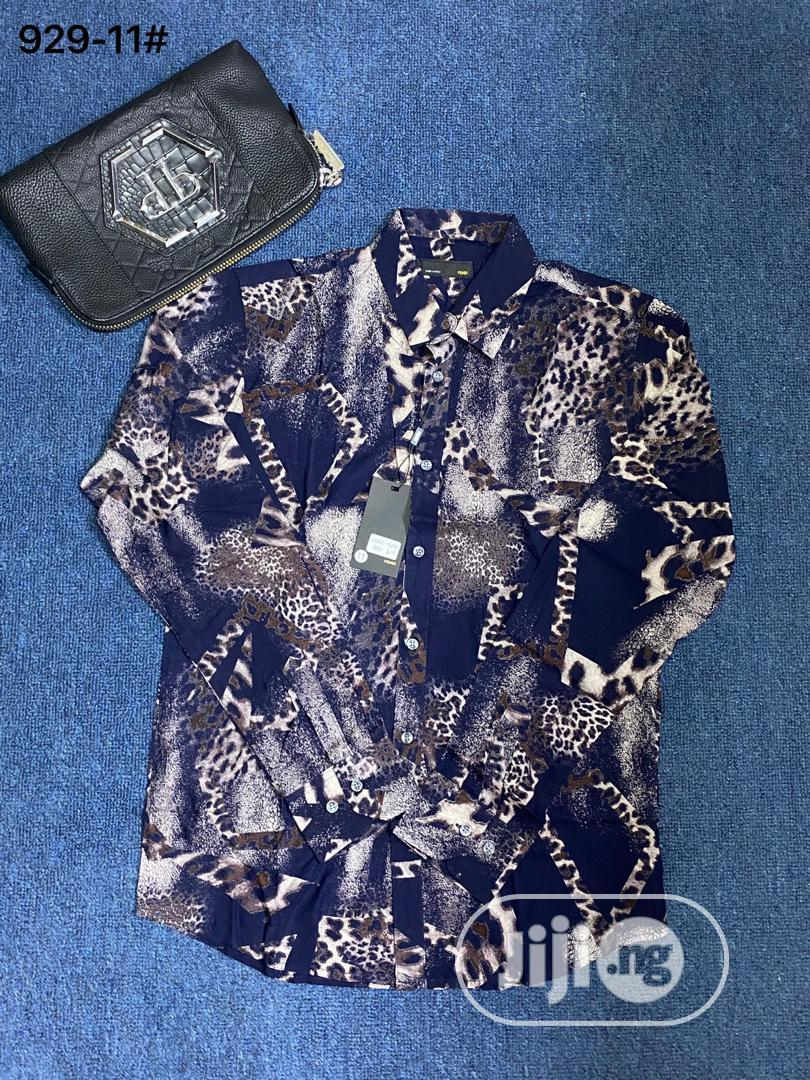 New Quality Men Long Sleeve Vintage Shirt | Clothing for sale in Lagos Island (Eko), Lagos State, Nigeria