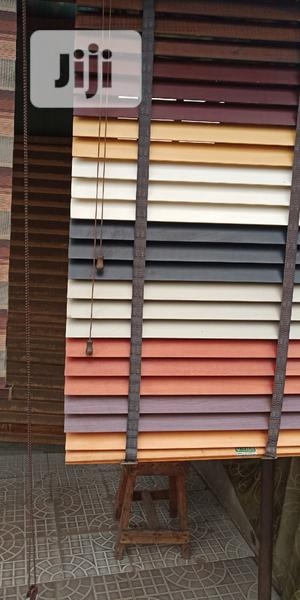 Best Quality Strong Wooden Window Blinds | Home Accessories for sale in Lagos State, Lekki