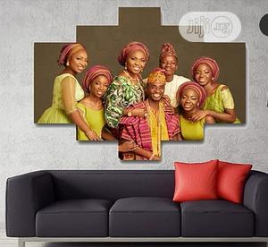 Large Family Photo Canvas Frame | Home Accessories for sale in Lagos State, Agege