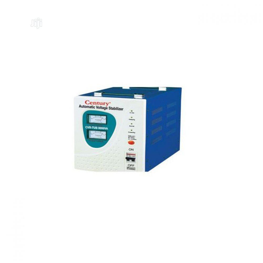 Automatic Voltage Stabilizer (CVR-TUB 8000VA) -century