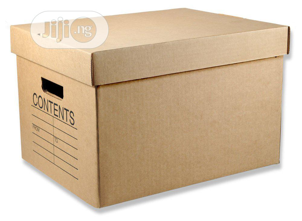Archive Boxes For Document Storages | Manufacturing Services for sale in Ifako-Ijaiye, Lagos State, Nigeria