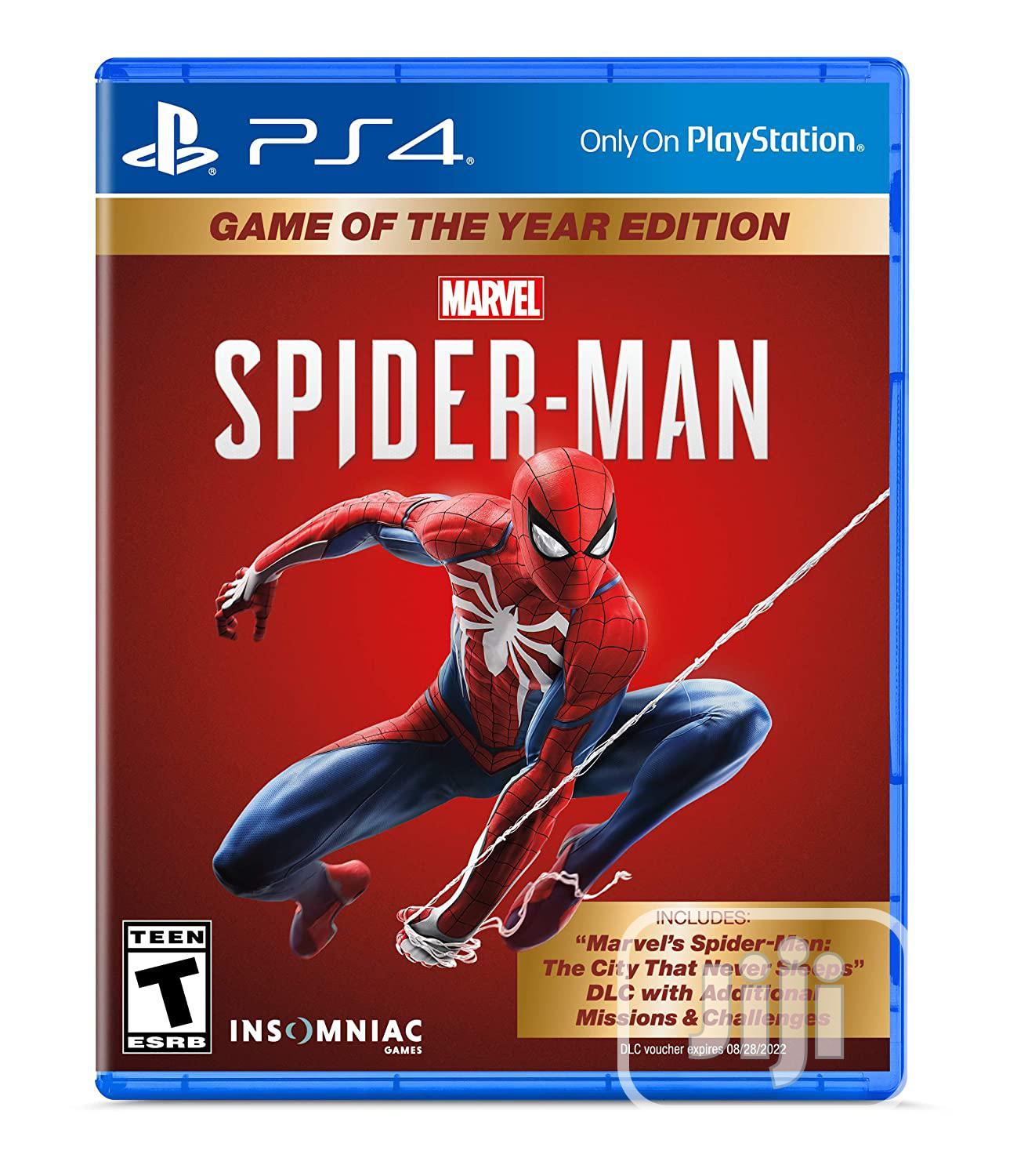 Marvel's Spider-man: Game Of The Year Edition - Playstation