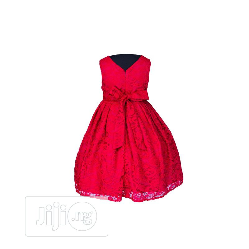 Pippa and Julie Red Floral Dress   Children's Clothing for sale in Surulere, Lagos State, Nigeria