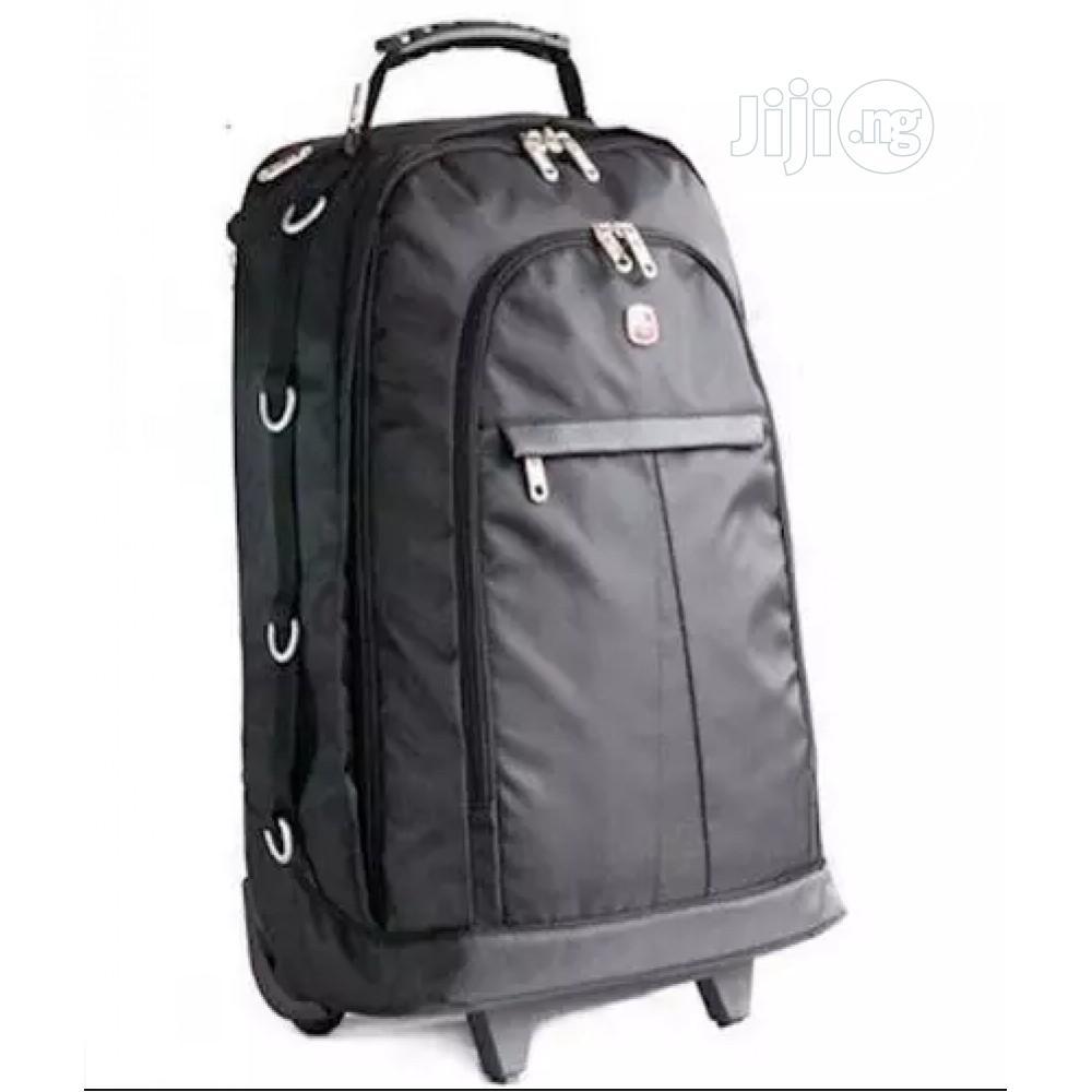 "15"" - 17"" Trolley Laptop Bag and Backpack -Swiss Gear N11 | Bags for sale in Alimosho, Lagos State, Nigeria"