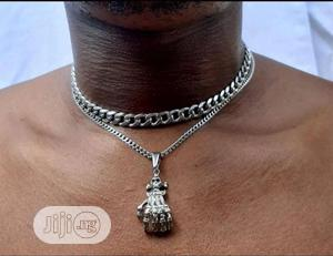 Siver Cuban Chain   Jewelry for sale in Lagos State, Lagos Island (Eko)