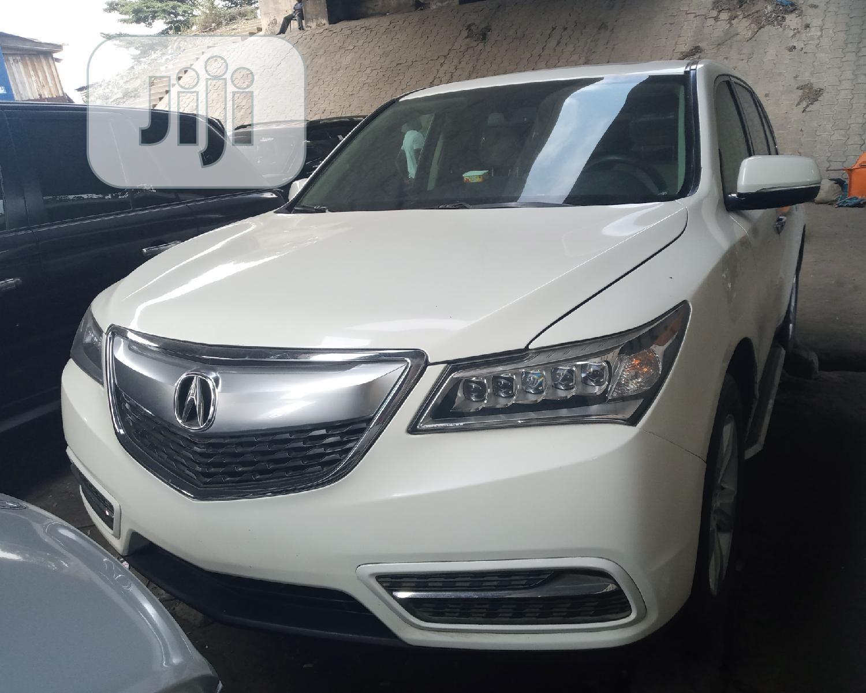 Acura MDX 2014 White