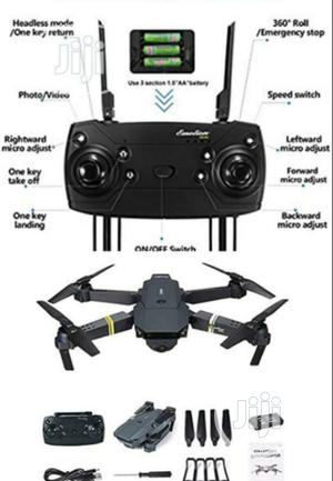 Drone -JY019 Quadcopter Helicopter Wifi Selfie Pocket Drone. | Photo & Video Cameras for sale in Lagos State, Ojo
