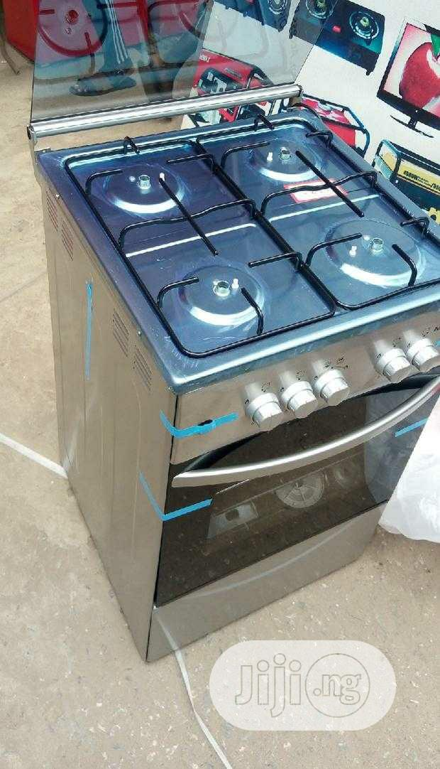 Archive: Maxi 50 X 50 4B Gas Cooker + Auto Ignition - Silver