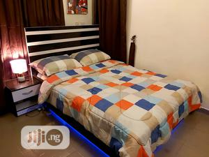 41/2*6ft Modern Bedframe With Led Light   Furniture for sale in Lagos State, Isolo