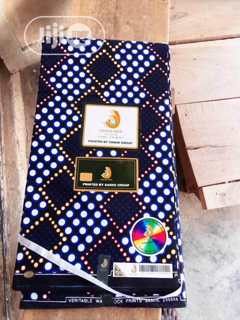 New Original Quality Ankara 6 Yards 100% Cotton | Clothing for sale in Ojo, Lagos State, Nigeria