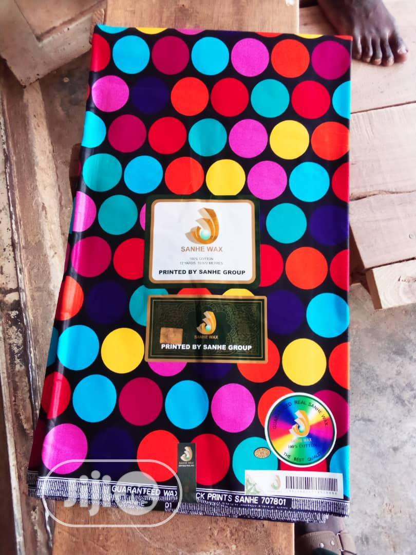 New Original 100% Cotton Ankara Fabric 6 Yards | Clothing for sale in Ojo, Lagos State, Nigeria