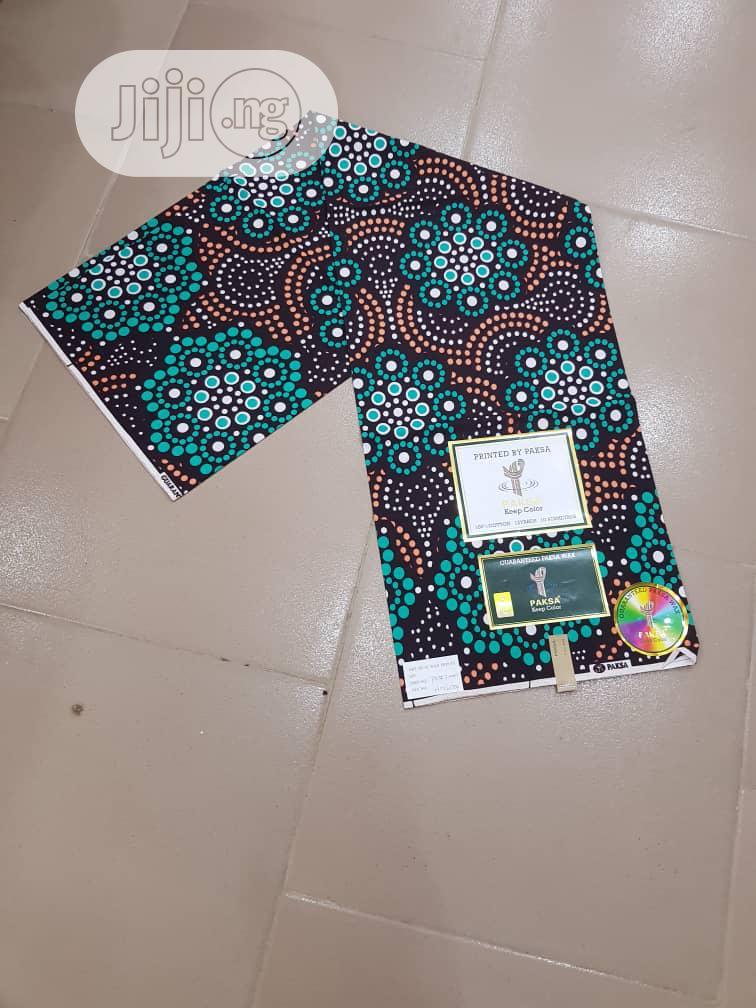 New Quality 100% Cotton Ankara Fabric