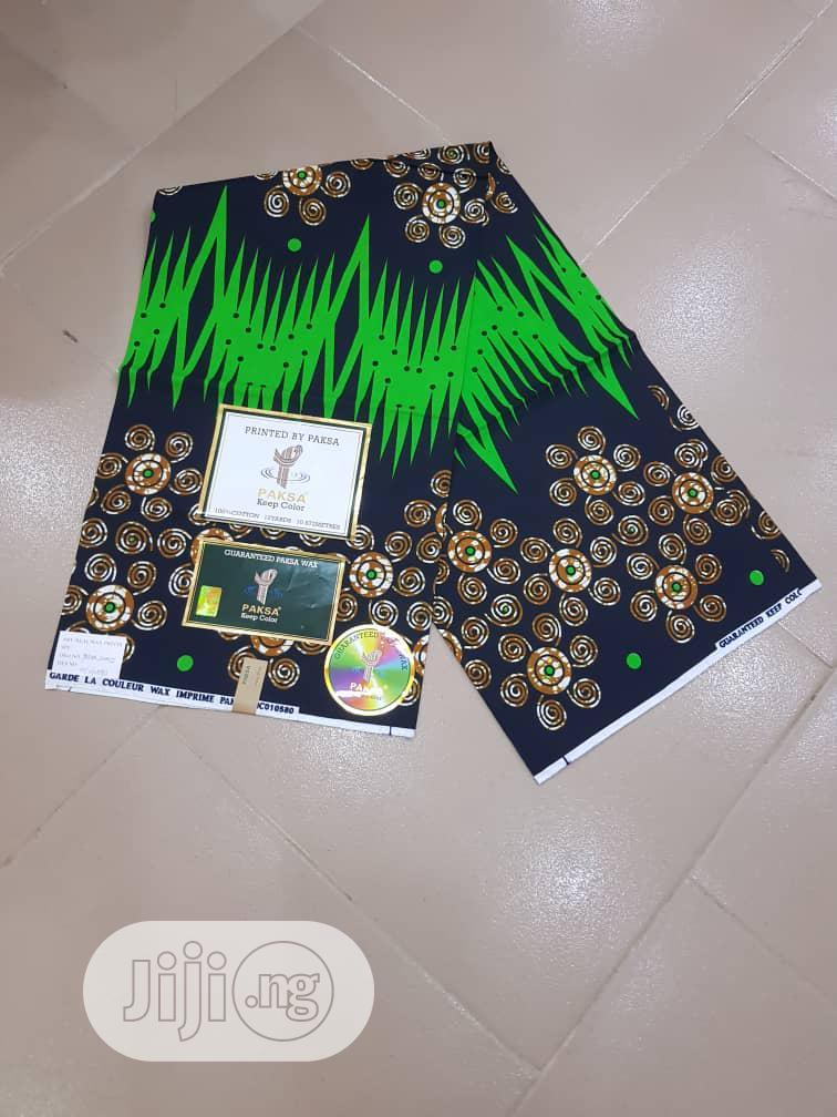 New Classic 100% Ankara Fabric 6 Yards