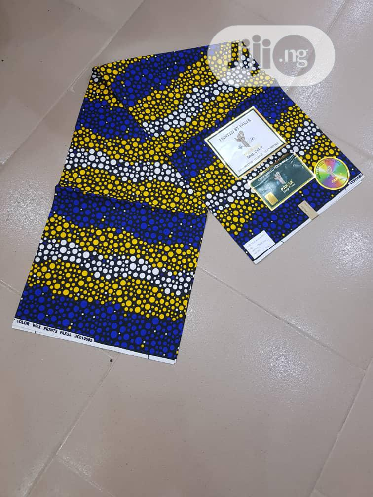 New Classic 100% Ankara Fabric 6 Yards   Clothing for sale in Ojo, Lagos State, Nigeria