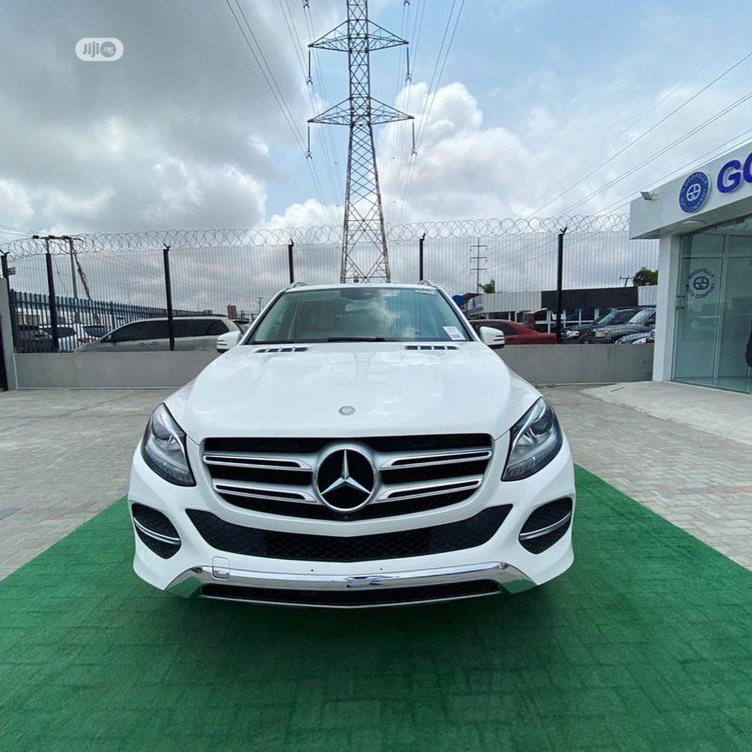 Mercedes-Benz GLE-Class 2016 White