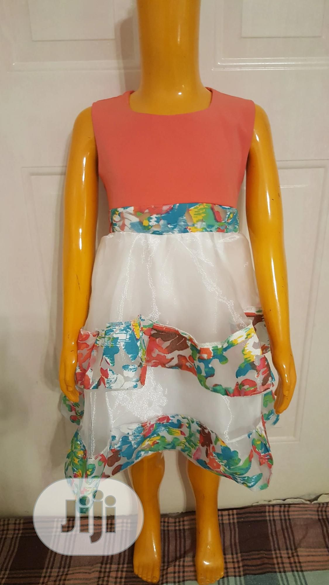Floral Designed Dress | Children's Clothing for sale in Garki 1, Abuja (FCT) State, Nigeria
