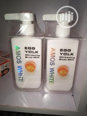 Amos White Egg Yolk Milk | Skin Care for sale in Lagos State, Amuwo-Odofin