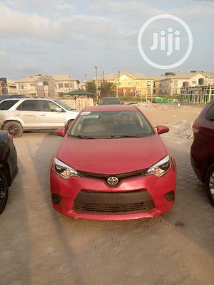 Toyota Corolla 2016 Red   Cars for sale in Lagos State, Victoria Island