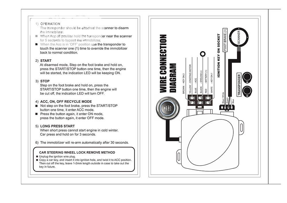 Push Button Start Stop Engine RFID Lock Ignition Switch | Vehicle Parts & Accessories for sale in Ifako-Ijaiye, Lagos State, Nigeria