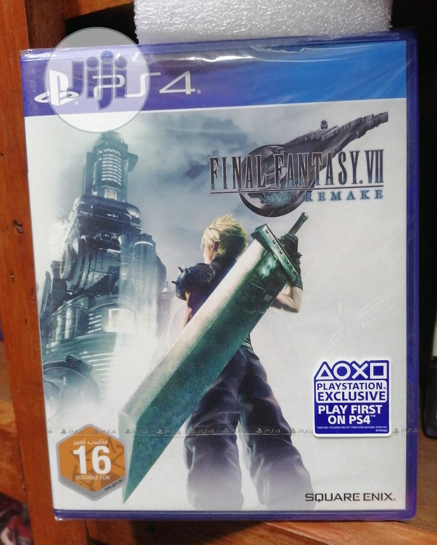 Final Fantasy VII:Remake-ps4