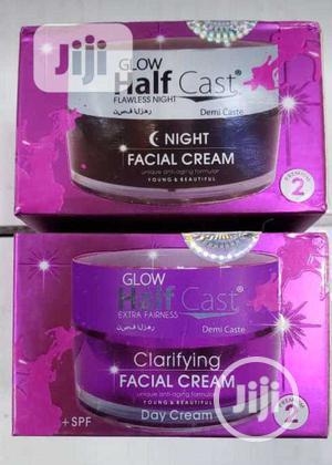 Glow Half Cast Morning and Night Cream   Skin Care for sale in Lagos State, Amuwo-Odofin
