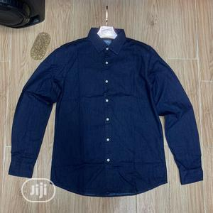 Quality Jeans Long Sleeves Shirt | Clothing for sale in Lagos State, Lagos Island (Eko)