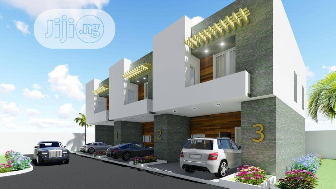 Spacious 4bedroom Terrace Duplex With 5years Payment Plan