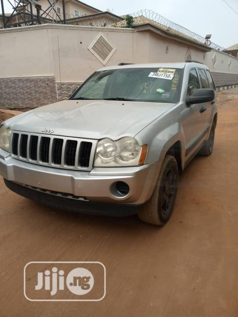 Jeep Grand Cherokee 2006 Laredo Silver In Ikeja Cars Oluwaseyi Badero Jiji Ng