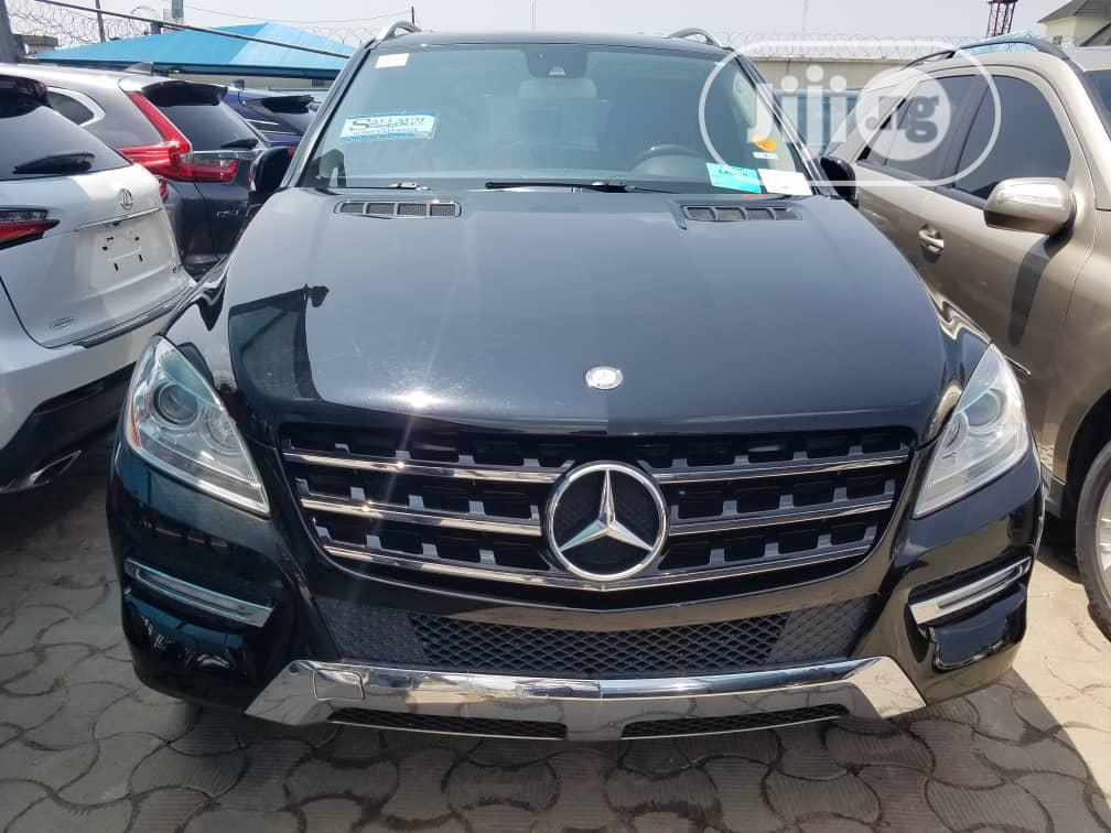 Mercedes-Benz M Class 2012 Black