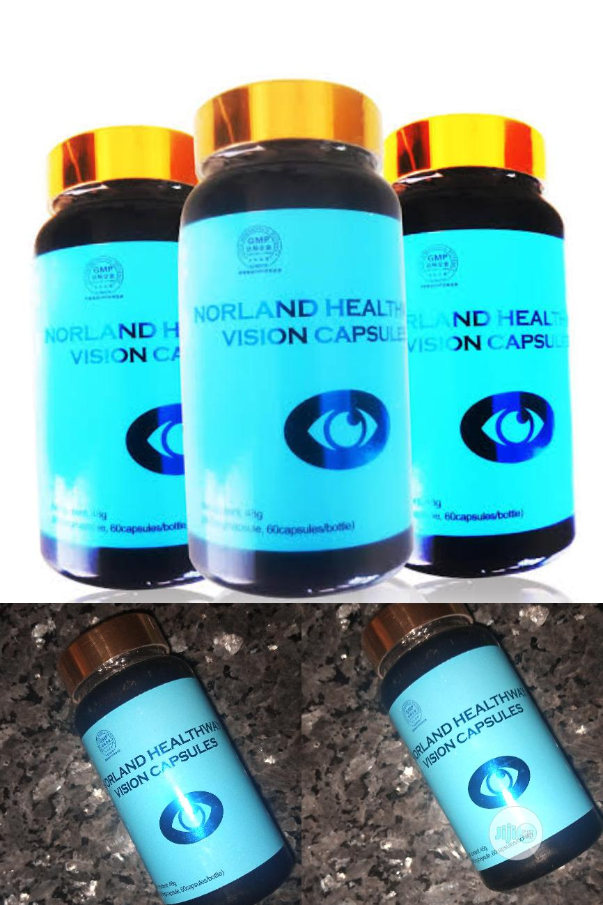 Healthway Natural & Herbal Vision Capsules Eye Supplement.