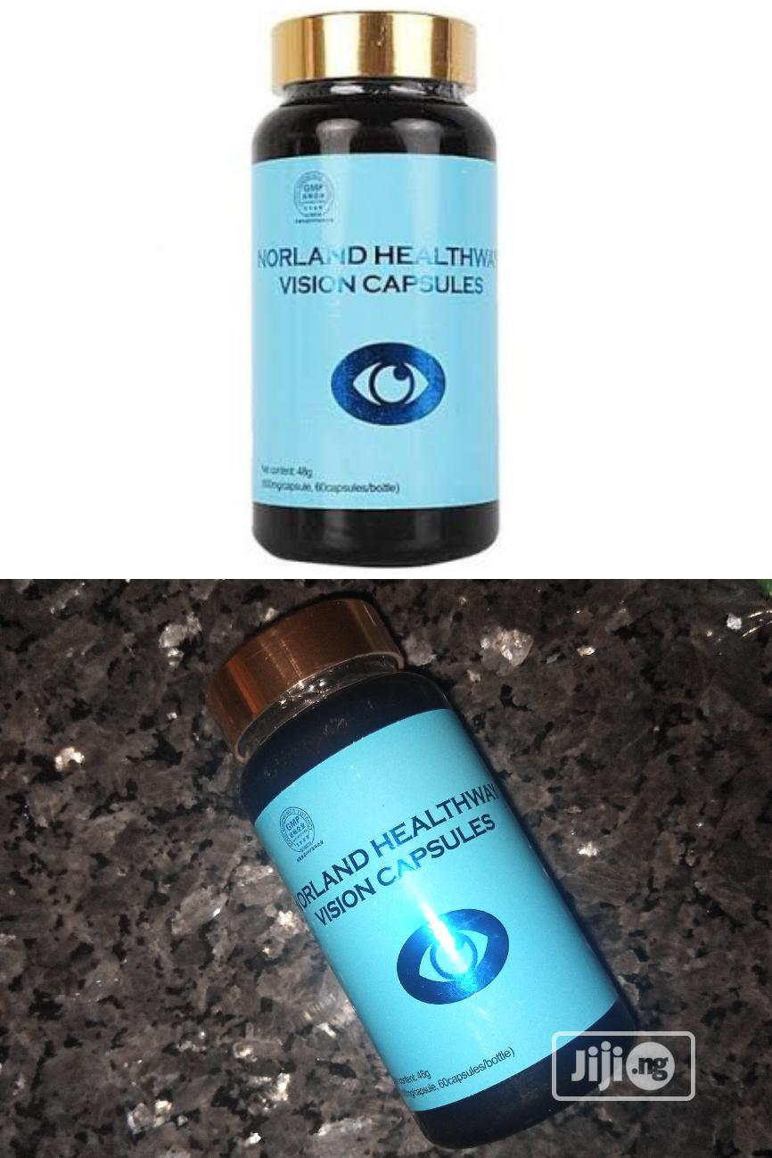 Healthway Natural & Herbal Vision Capsules Eye Supplement.   Vitamins & Supplements for sale in Isolo, Lagos State, Nigeria