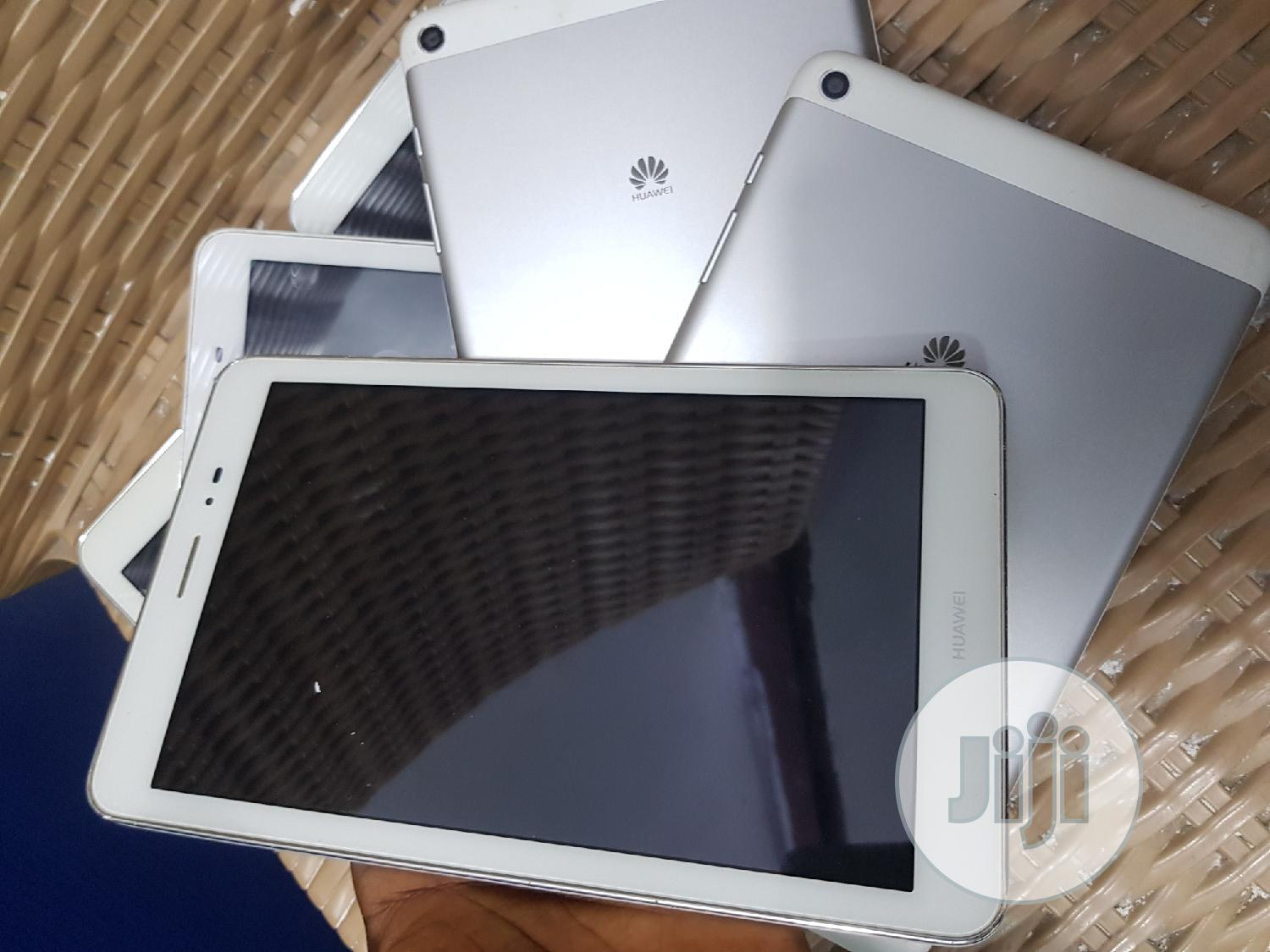 Huawei MediaPad T1 8.0 16 GB White | Tablets for sale in Ikeja, Lagos State, Nigeria
