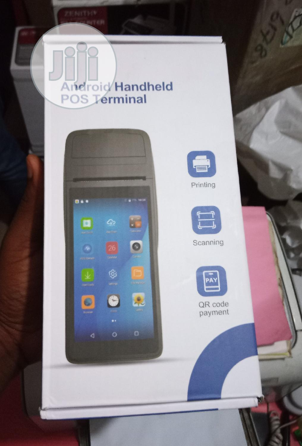 Brand New Android Pos Payment Terminal | Store Equipment for sale in Ikeja, Lagos State, Nigeria