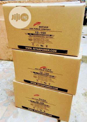 12v 200ah Rita Battery Available Now Now   Solar Energy for sale in Lagos State, Ojo