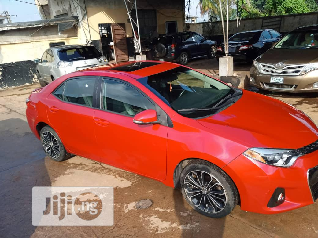 Toyota Corolla 2015 Red | Cars for sale in Onitsha, Anambra State, Nigeria