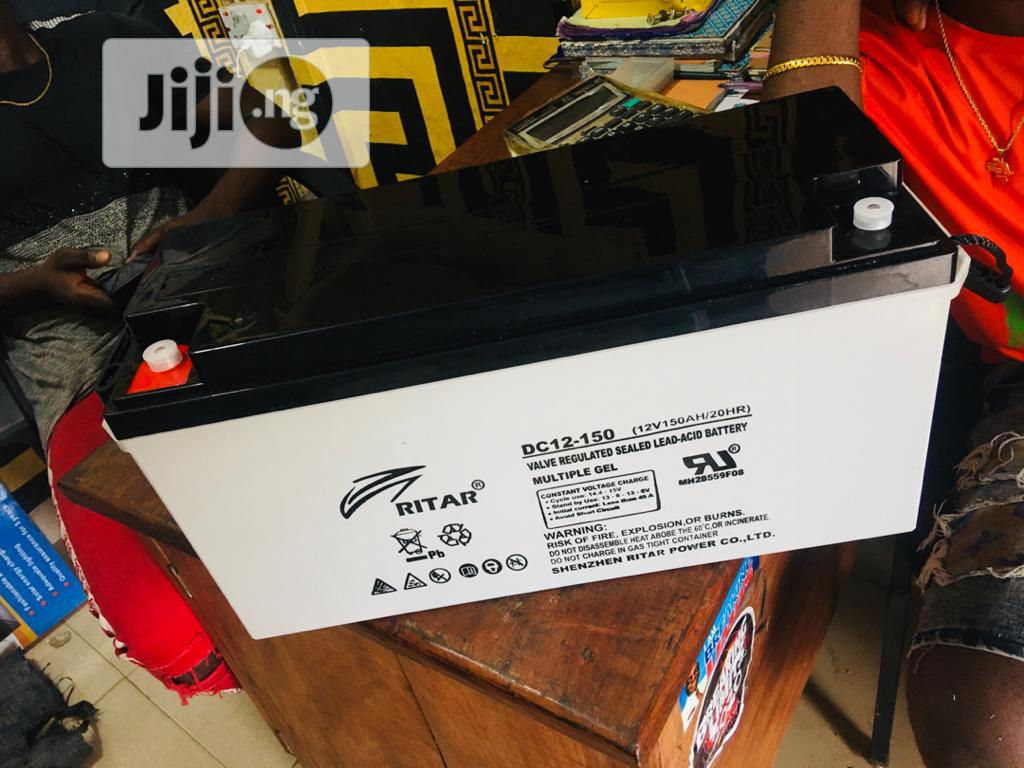 12v 150ah Rita Battery Available Now