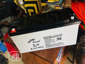 12v 150ah Rita Battery Available Now | Solar Energy for sale in Lagos State, Ojo