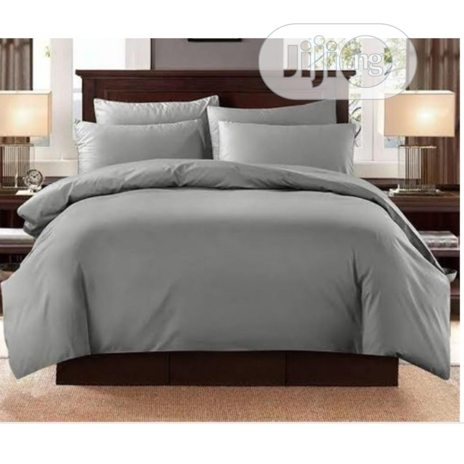 Archive: Plain Grey Bedsheets