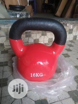 Red 16kg Kettlebell | Sports Equipment for sale in Lagos State, Surulere