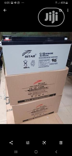 12v 200ah Rita Battery Available Now   Solar Energy for sale in Lagos State, Ojo