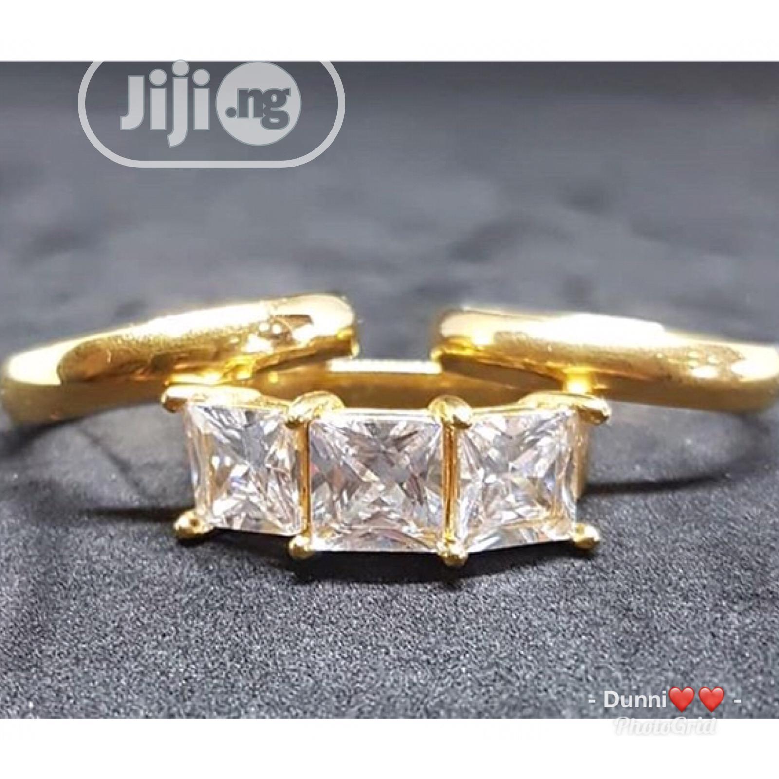 Wedding Ring/Engagement Gold