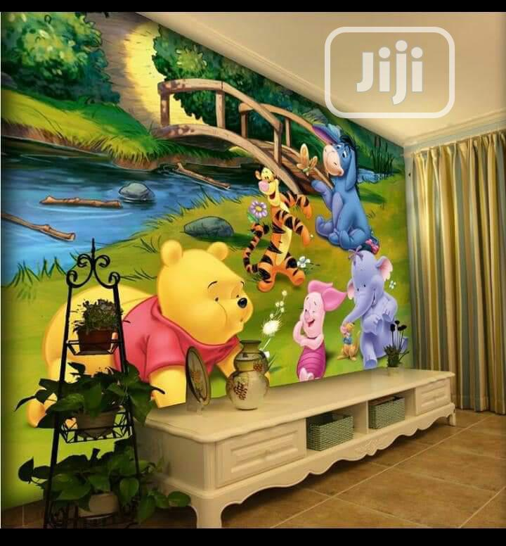 3d,5d,8d Wall Murals | Home Accessories for sale in Alimosho, Lagos State, Nigeria