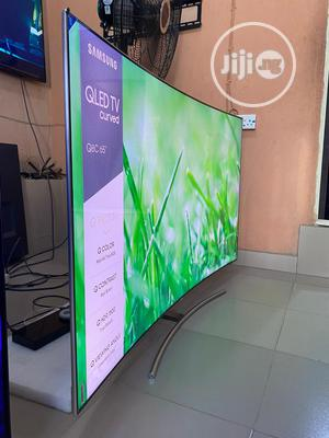 Samsung Qled 4K Curved Smart TV Series 65-inch | TV & DVD Equipment for sale in Lagos State, Ojo