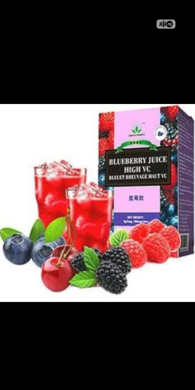 Green World Blueberry Juice