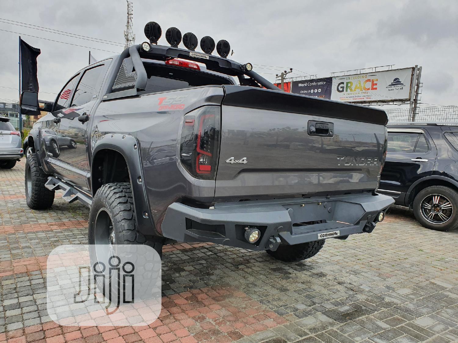 Toyota Tundra 2014 Gray | Cars for sale in Lekki, Lagos State, Nigeria