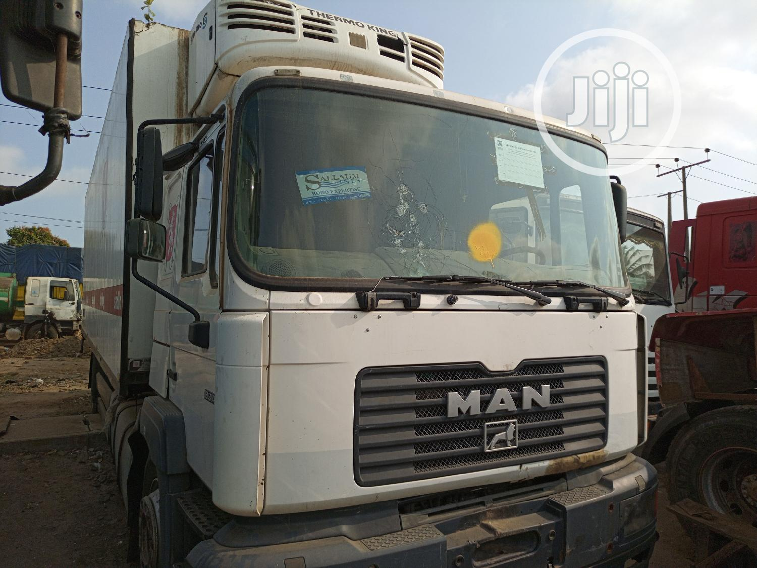 Container Body Man Truck