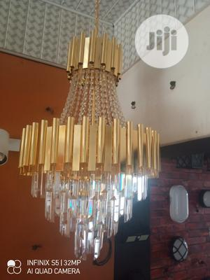 Crystal Chandelier Lights LED Gold | Home Accessories for sale in Lagos State, Ikeja