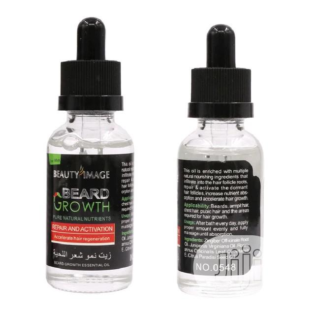 Beard Growth Essential Oil Men's Beard Growth Solution   Hair Beauty for sale in Ajah, Lagos State, Nigeria