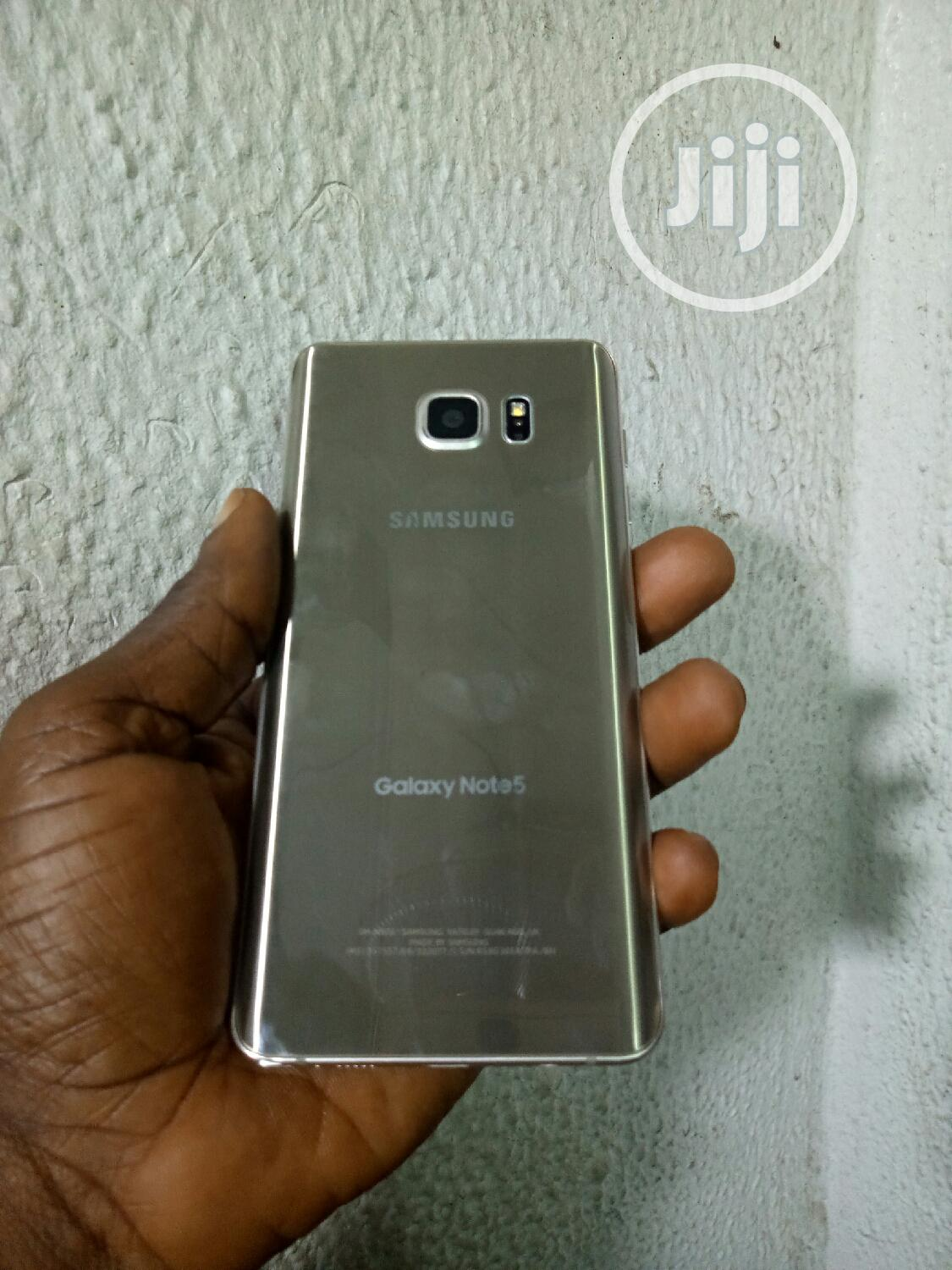 Samsung Galaxy Note 5 64 GB Gold | Mobile Phones for sale in Ikeja, Lagos State, Nigeria